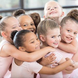 Kids ballet skirt dance