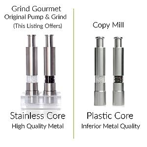 Original vs Copy Mills