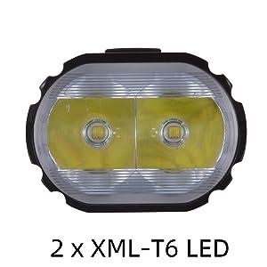 2pcs XML-T6 LED