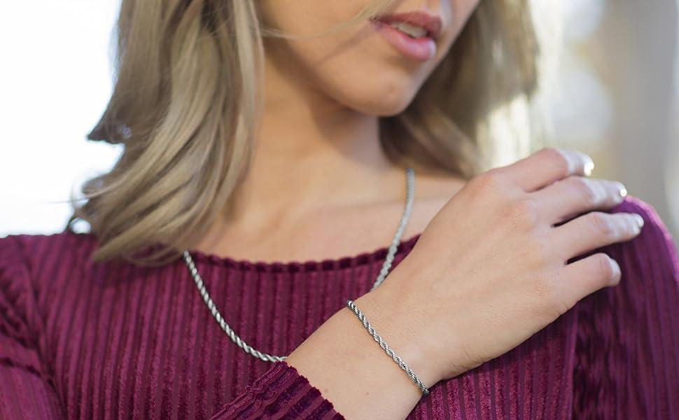 pandora bracelet mens friendship string love anklet for women evil eye bond touch key ring making 20