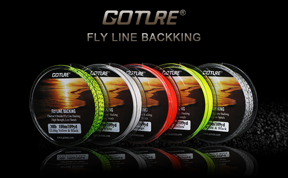 fly backing line