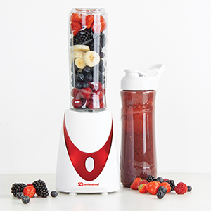 blender red, red and white personal blender, nutrient extractor red, nutrient extractor white