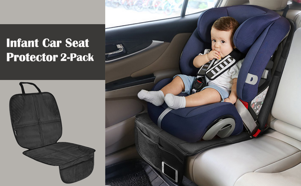 Infant Baby Child Easy Clean Anti-slip Car Seat Protector Mat Cushion Cover US M