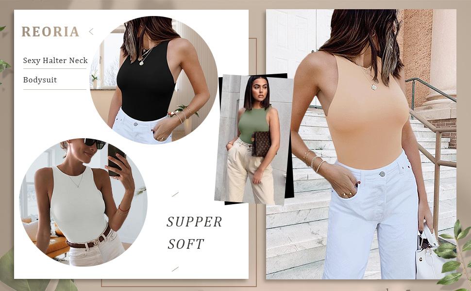 halter neck bodysuit