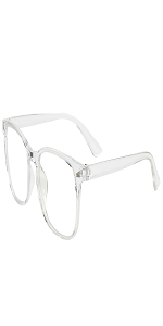 transparent blue light blocking glasses