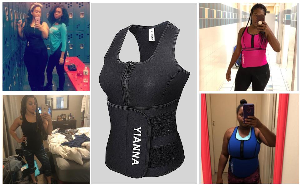 Sweat Sauna Vest for Women
