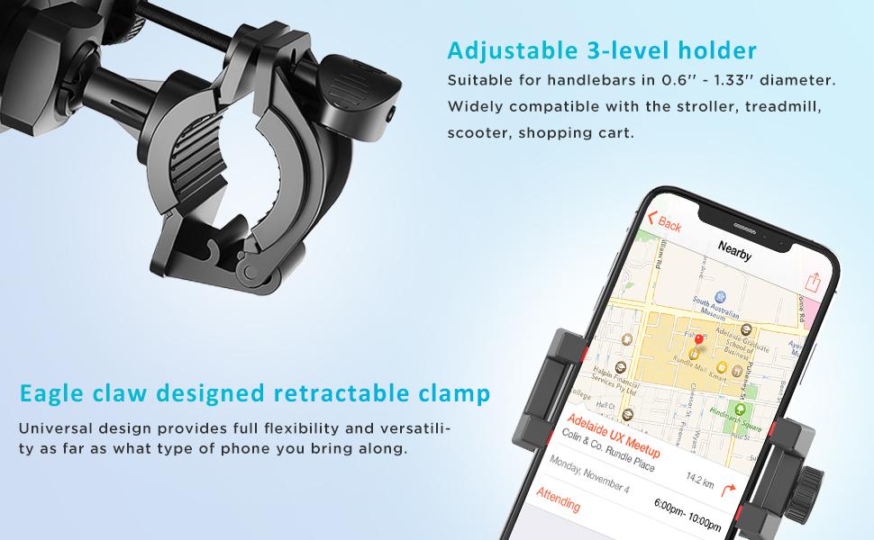 ipow bike phone mount