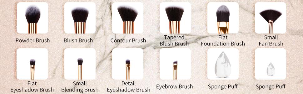 make up brushs