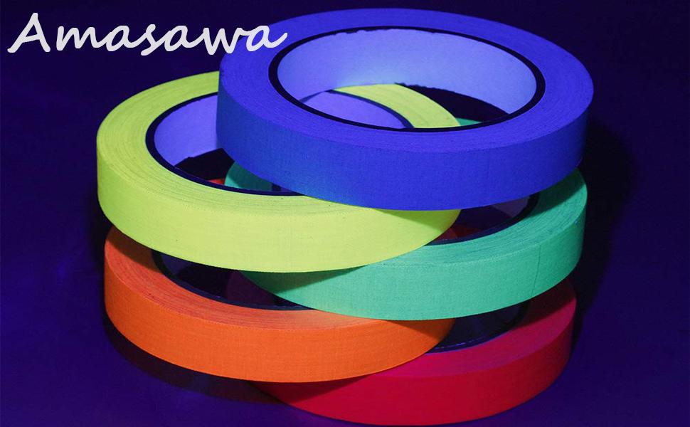 Kleuren Fluorescerende Tape