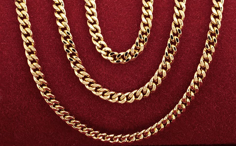 lifetime jewelry 10k 14k 18k 20k 22k real gold chain necklace men women sterling silver 925 bracelet