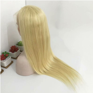 soft and healthy blonde hair wigs