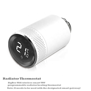 Qiumi Smart Thermostatic Radiator Valve