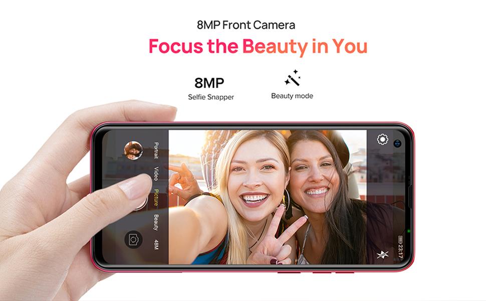 8MP front camera