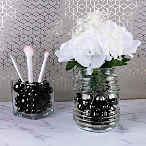 quinceanera decorations black, sweet 16 party supplies, black party supplies, baby shower decor