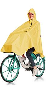cycling rain poncho