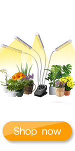 Growing Lamp Full Spectrum for Indoor Plants with Display Screen Timer