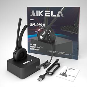 UNIQ Leichtes drahtloses Mono Bluetooth-Headset Schwarz