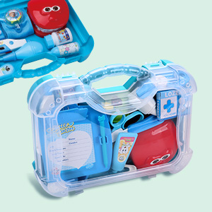 kids doctor kit with carrying case