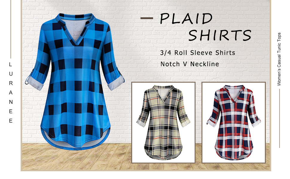 Plaid Shirts for Women 2