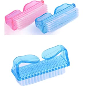 Nail scrubbing brushes