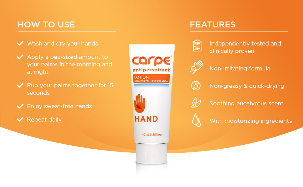 carpe hand info