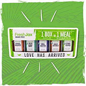 FreshJax Organic Grilling Gift Set