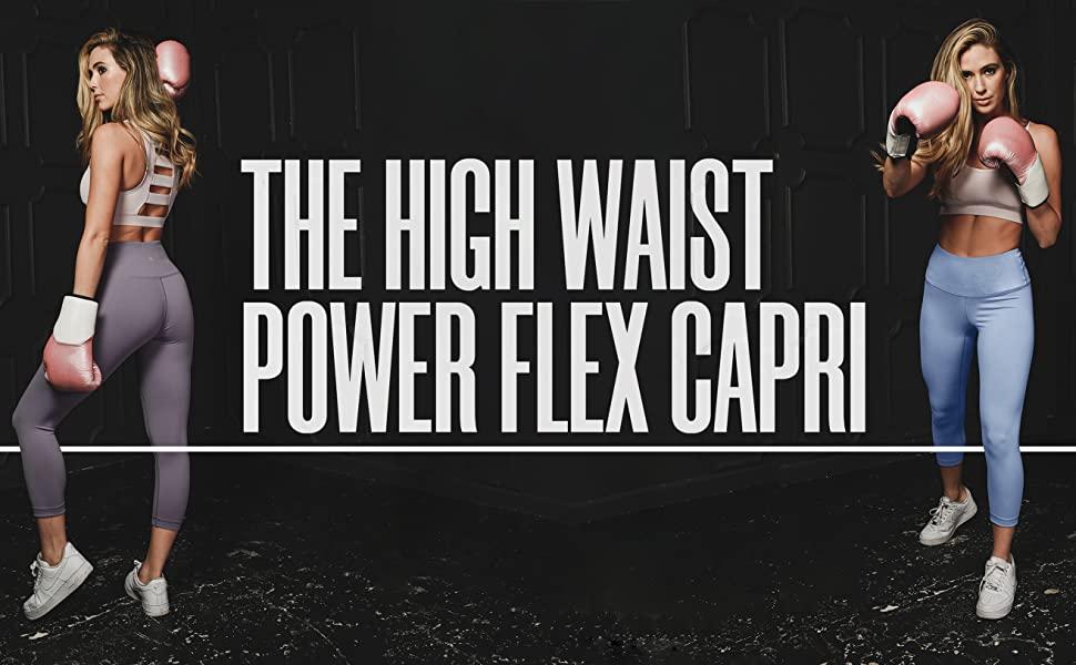 90DEGREE High Waist Capris
