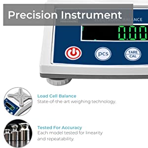 Digital precision balance analytical scientific scale weighing weight lab laboratory 3000g 0.01g