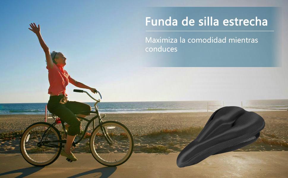Linkax Cubre Sillín Bicicleta Cubierta de Asiento de Bicicleta ...