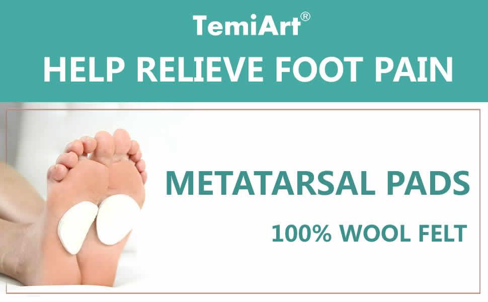 felt metatarsal pads