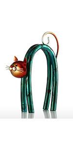 tooarts cat ornament