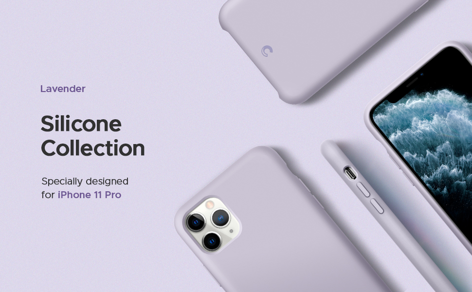 Silicone Collection for iPhone 11 Pro