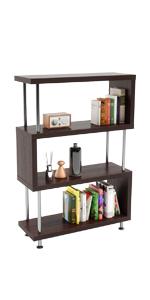 Bestier Industrial 4 Tier Bookshelf