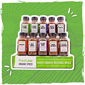 FreshJax organic Meat Lovers 10 pack spices