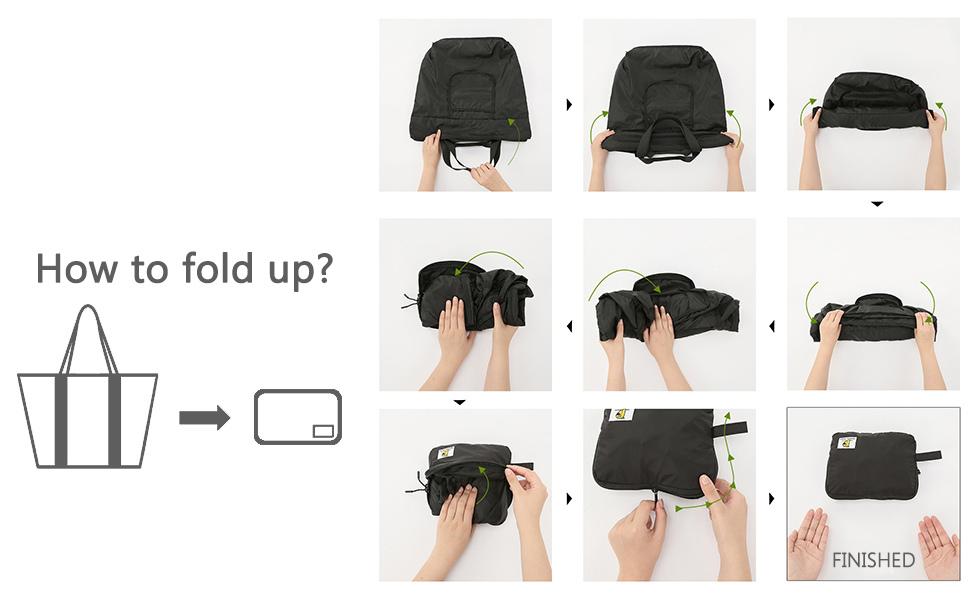 VanFn Foldable Travel Duffel Bag