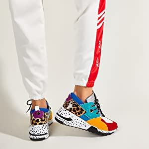 chunky fashion sneakers