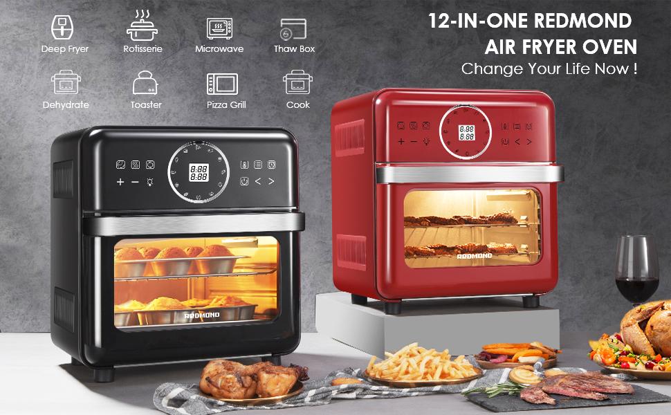 redmond air fryer oven