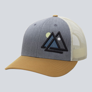 WUE day and night trucket hat