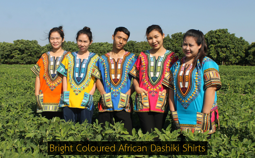 Dashiki Warrior Shirts