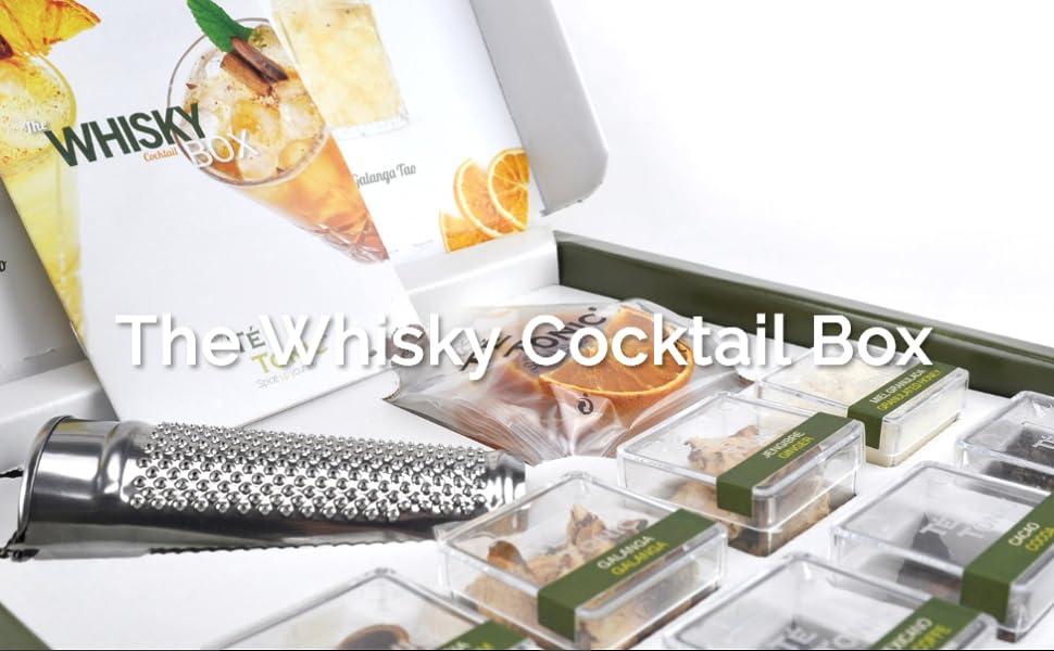 Set de regalo Té Tonic whisky, sustancias vegetales especiales para Whisky Cócteles: Amazon.es: Alimentación y bebidas
