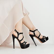 platform amp; stiletto high heel