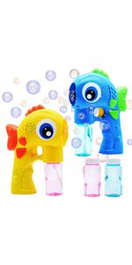 2 LED Fish Bubble Gun Blowers