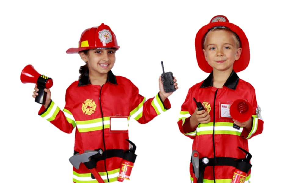 firefighter costume toys