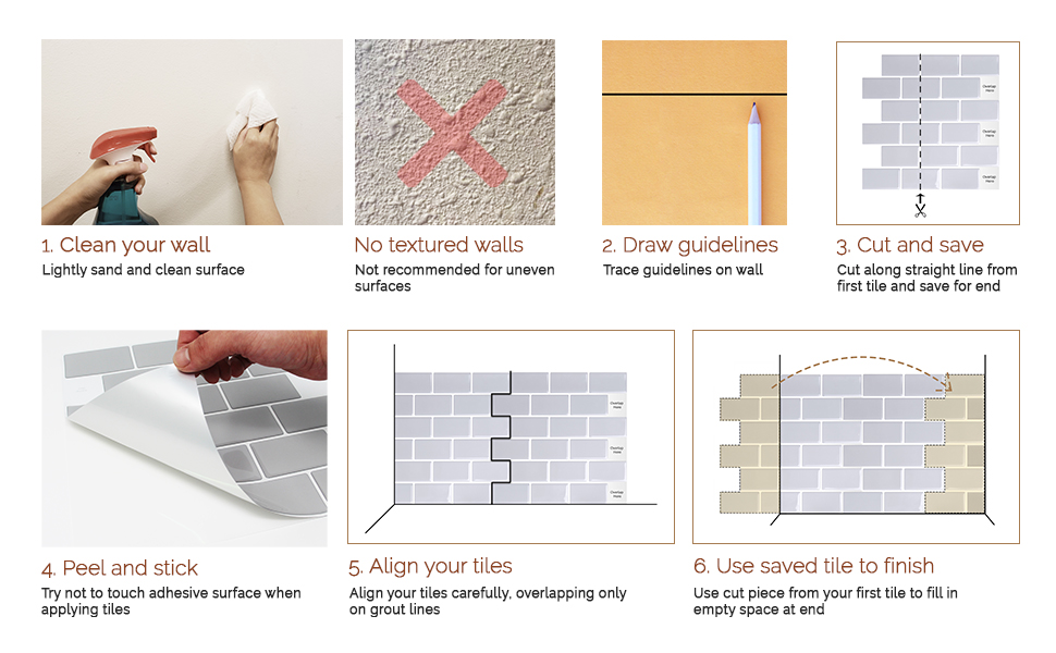 tic tac tiles installation guide