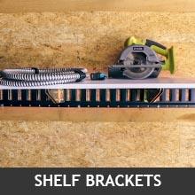 shelf on E-Track with E-Track brackets