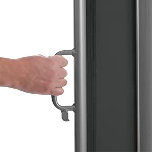 stufenlos ausziehbar hand-griff mit einrasten unten ziehen rollo automatischer einzug zurück