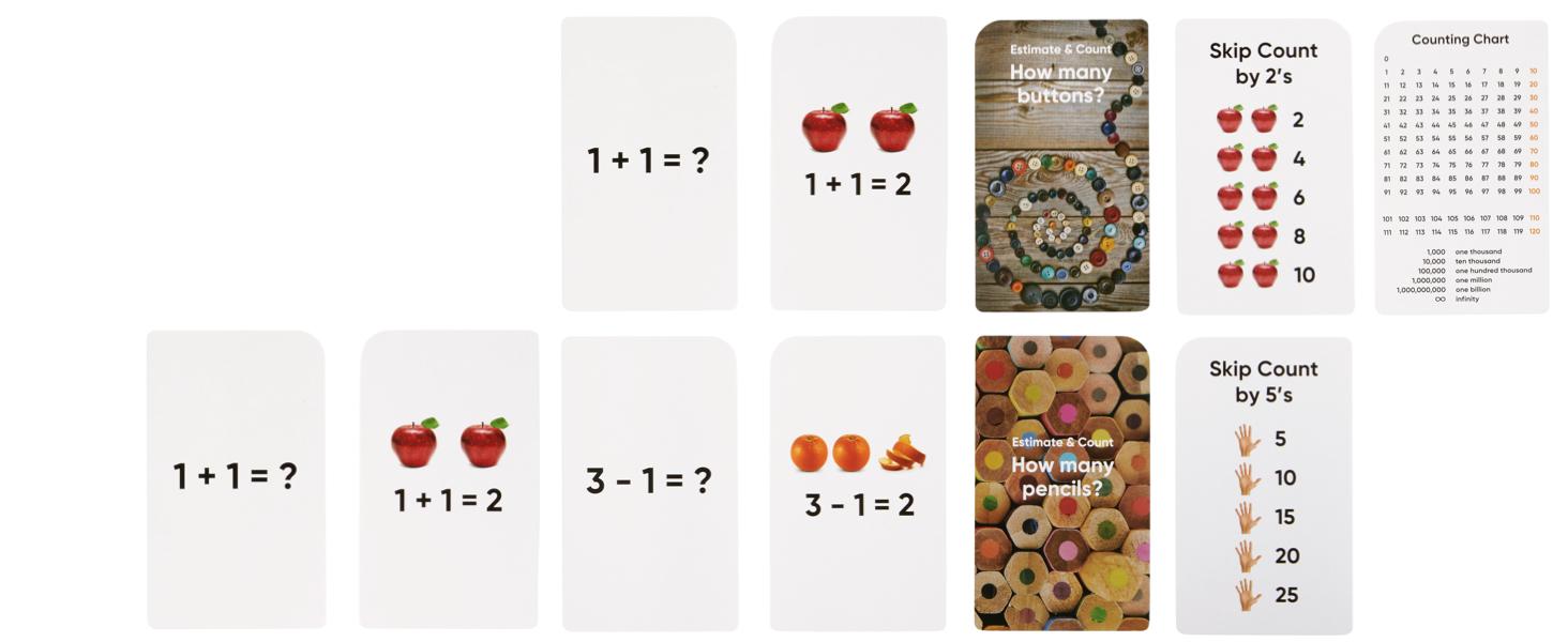 Numbers & Counting Bonus Cards