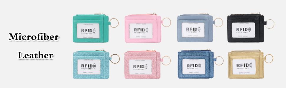 keychains keychain wallet coin purse card holder for women wallet keychain for women keychain wallet