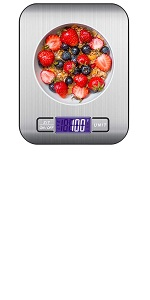 Keukenweegschaal 10 kg