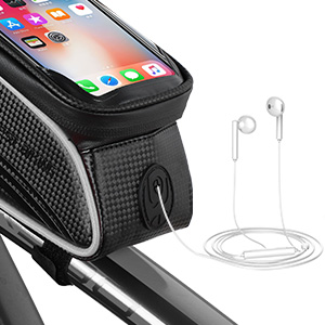 Reflecting Belt Bicycle Frame Bag Sensitive Touch Screen Bicycle Frame Pouch Head Tube Pouch Cycling